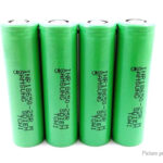 INR 18650 3.6V 2500mAh Rechargeable Li-ion Battery (4-Pack)