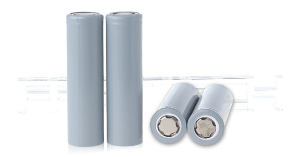 INR 18650 3.7V 2600mAh Rechargeable Li-ion Batteries (4-Pack)