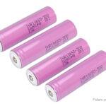 INR 18650-30Q 3.6V 3000mAh Rechargeable Li-ion Batteries (4-Pack)