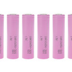 INR 18650-30Q 3.6V 3000mAh Rechargeable Li-ion Batteries (8-Pack)