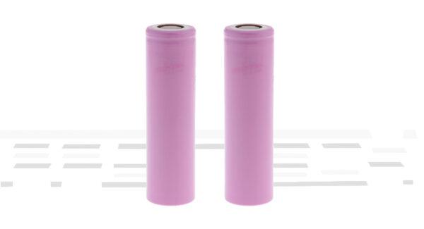 INR 18650-35E 3.6V 3500mAh Rechargeable Li-ion Battery (2-Pack)