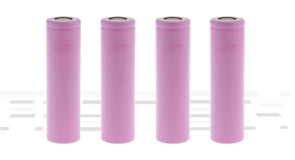 INR 18650-35E 3.6V 3500mAh Rechargeable Li-ion Battery (4-Pack)