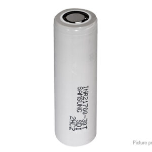 INR 21700-30T 3.6V 3000mAh Rechargeable Li-ion Battery