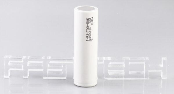 INR 21700-50E 3.7V 5000mAh Rechargeable Battery