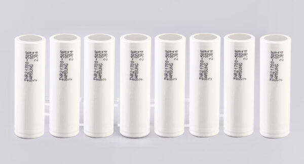 INR 21700-50E 3.7V 5000mAh Rechargeable Battery (8-Pack)