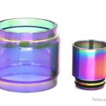 Iwodevape Replacement Glass Tank + Drip Tip for ADVKEN Manta RTA