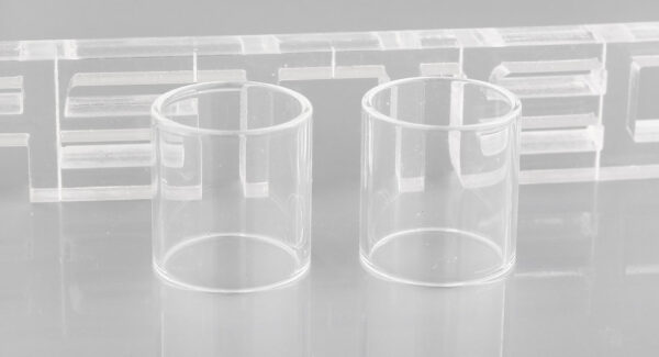 Iwodevape Replacement Glass Tank for Aspire PockeX (2-Pack)