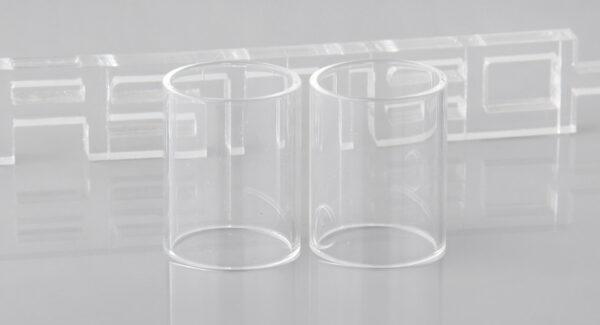 Iwodevape Replacement Glass Tank for Fumytech NAVIGATOR BX Atomizer (2-Pack)