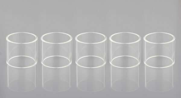 Iwodevape Replacement Glass Tank for SMOK TFV8 X-Baby Beast Clearomizer (5-Pack)