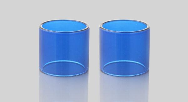 Iwodevape Replacement Glass Tank for Smoktech SMOK Spirals Clearomizer (2-Pack)
