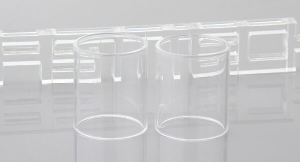 Iwodevape Replacement Glass Tank for Vandy Vape KYLIN Atomizer (2-Pack)