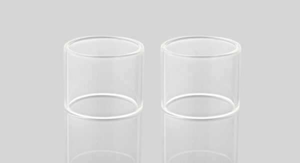 Iwodevape Replacement Glass Tank for Wotofo Serpent RDTA Atomizer (2-Pack)