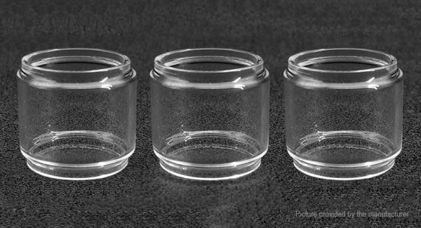 Iwodevape Replacement Glass Tank for Wotofo The Troll (3-Pack)