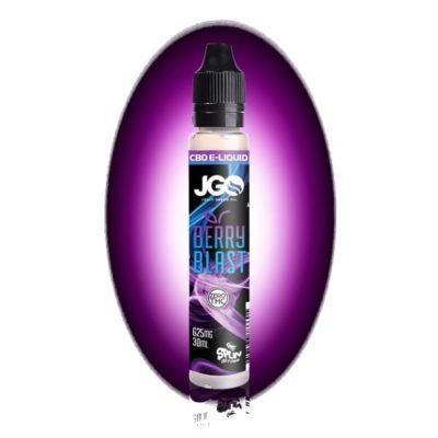 JGO Berry Blast 625mg 30ml CBD Vape E Juice (Isolate)