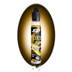 JGO Honey 625mg 30ml CBD Vape E Juice (Isolate)