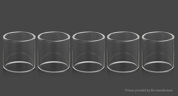 Kindbright Replacement Glass Tank for Reload RTA Atomizer (5-Pack)