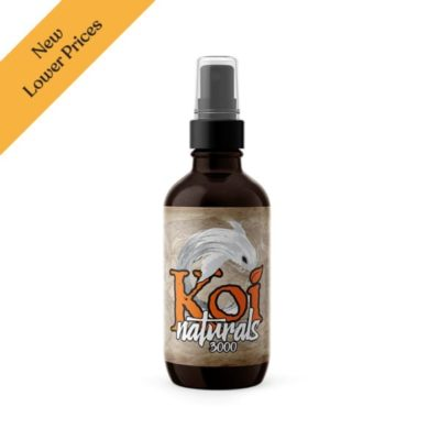 Koi Naturals Infused with Koi PRIZM© CBD Oil Orange (Choose Strength)
