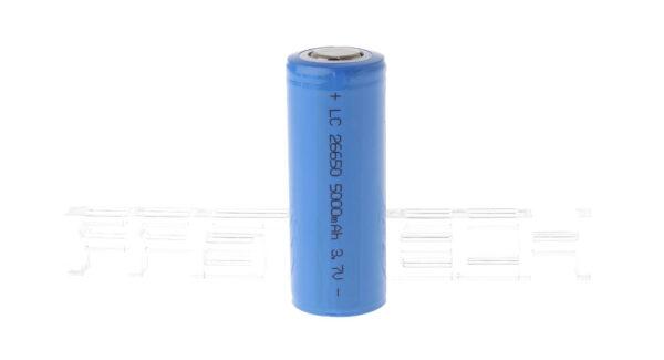 LC 26650 3.7V 5000mAh Rechargeable Li-ion Battery