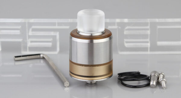 LE TURBO V4 Styled RDA Rebuildable Dripping Atomizer