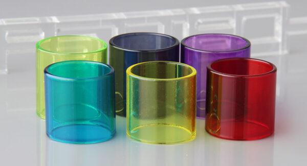 LONG TAI Replacement Glass Tank for CoilArt MAGE Atomizer (6 Pieces)