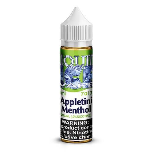 Liquid Ice eJuice - Appletini Menthol - 60ml / 0mg
