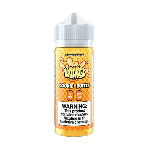Loaded E-Liquid - Cookie Butter - 120ml - 120ml / 0mg