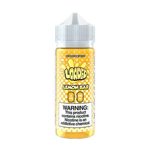 Loaded E-Liquid - Lemon Bar - 120ml / 0mg