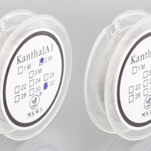 MKWS Kanthal A1 Resistance Wire for Rebuildable Atomizer (2-Pack)