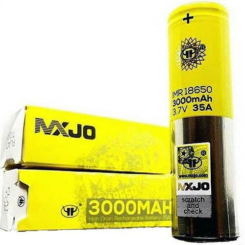 MXJO 18650 Battery 3000mah 35A