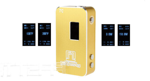 Majesty 150W TC Temperature Control Variable Wattage VW APV Box Mod