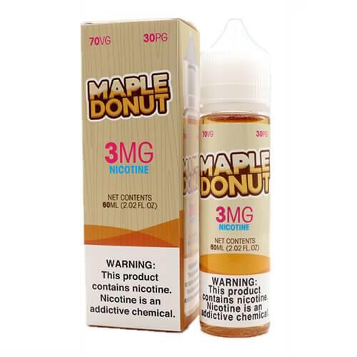 Maple Donut E-Liquid - Maple Donut - 60ml / 0mg