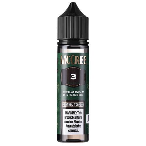 McCree E-Liquid - Menthol Tobacco - 60ml / 0mg