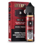 McCree E-Liquid - Original Tobacco - 2x60ml / 0mg