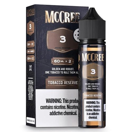 McCree E-Liquid - Tobacco Reserve - 2x60ml / 0mg
