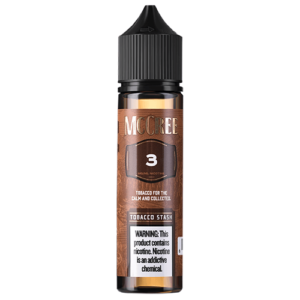 McCree E-Liquid - Tobacco Stash - 60ml / 0mg