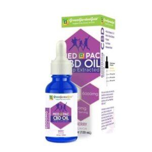 Med Pac Hemp Oil Berry Flavor (Choose CBD mg 450mg-6,000mg)