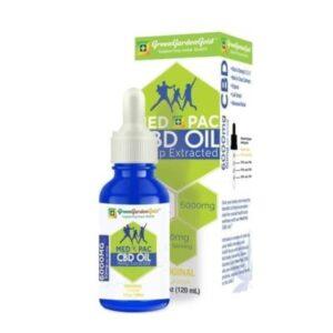 Med Pac Hemp Oil Regular Flavor (Choose CBD mg 450mg-6,000mg)