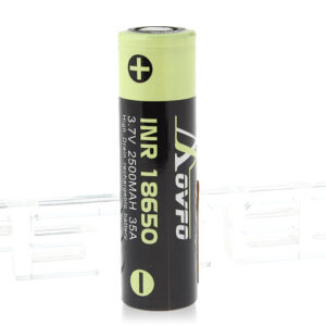 Movfo INR 18650 3.7V 2500mAh Rechargeable Li-ion Battery