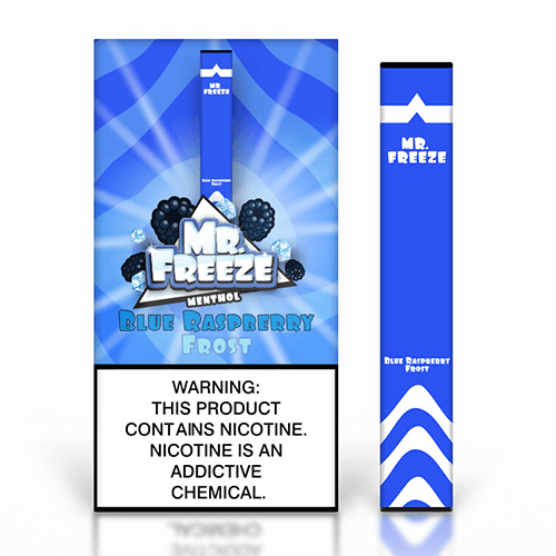 Mr. Freeze Disposable - Blue Raspberry Frost - 1.3ml / 50mg