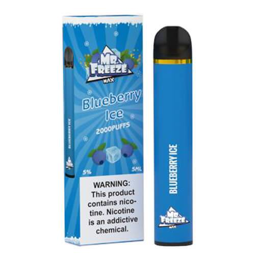 Mr. Freeze Disposable MAX - Blueberry Ice - Single / 50mg