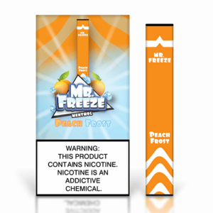 Mr. Freeze Disposable - Peach Frost - 1.3ml / 50mg