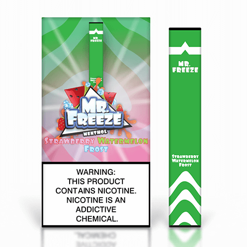Mr. Freeze Disposable - Strawberry Watermelon Frost - 1.3ml / 50mg