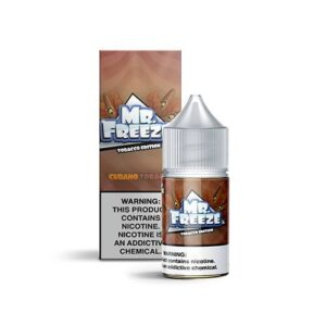 Mr. Freeze eLiquid Tobacco Edition Salt Nic - Cubano Tobacco - 30ml / 50mg