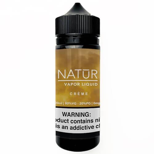 NATUR Vapor Liquid - Creme - 120ml / 0mg