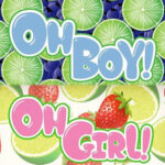 Oh Boy/Oh Girl E Liquids - Oh Boy - 60ml / 0mg