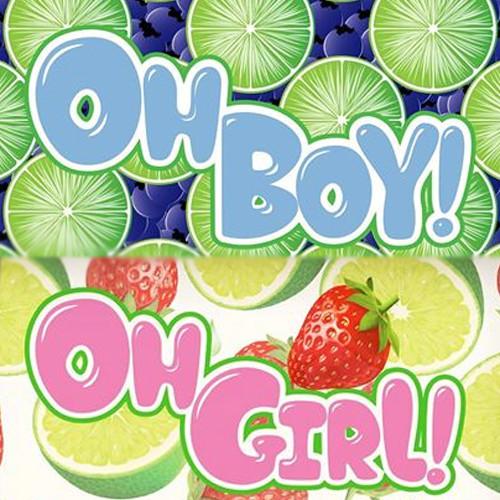 Oh Boy/Oh Girl E Liquids - Oh Boy - 60ml / 0mg