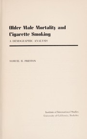 Older Male Mortality and Cigarette Smoking: A Demographic Analysis