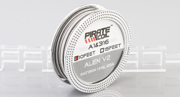 PIRATE Kanthal A1 + 316L Stainless Steel Alien V2 Heating Wire