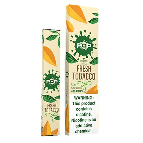 POP - Disposable Vape Pen - Fresh Tobacco - Single / 50mg