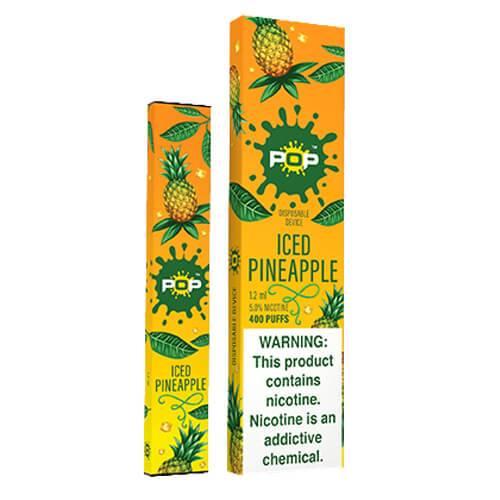 POP - Disposable Vape Pen - Iced Pineapple - Single / 50mg